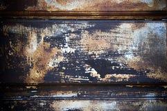 Oxidado lascado da pintura textured imagens de stock royalty free