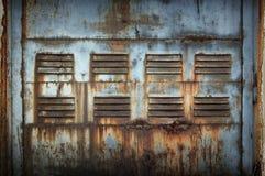 Oxidado lascado da pintura textured fotos de stock royalty free