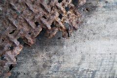 Oxidado y de madera Fotos de archivo libres de regalías