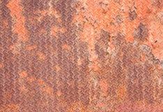 Oxidado y decaimiento del acero, textura Fotografía de archivo libre de regalías