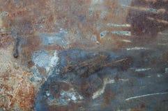 Oxidação do metal Fotografia de Stock Royalty Free