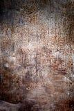 Oxidated belägger med metall royaltyfri bild