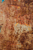 Oxidated metal. Surface making an abstract texture, high resolution Royalty Free Stock Image