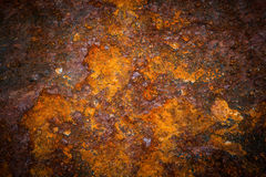 Oxidated metal. Surface making an abstract texture, high resolution Stock Images