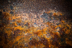 Oxidated metal Royalty Free Stock Image