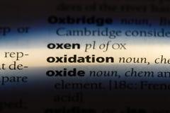 oxidation lizenzfreie stockfotografie