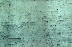 Oxiderad kopparbakgrund Arkivbilder