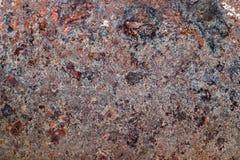Oxiderad metallyttersida Royaltyfri Fotografi