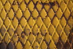 Oxidiertes Metallplatten Stockfoto