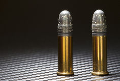 Oxidized bullets Stock Images