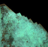 Oxidized copper Stock Photos
