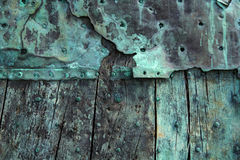 Oxidized copper Royalty Free Stock Photos