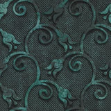 Oxidized copper and metal seamless texture Royalty Free Stock Images