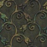 Oxidized copper and metal seamless texture Stock Photos