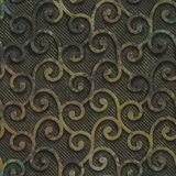 Oxidized copper and metal seamless texture. Metal seamless texture with swirls on it on a oxide metallic background Royalty Free Stock Photography