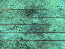 Oxidized copper texture Stock Photos