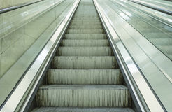 Oxidized escalators Stock Image
