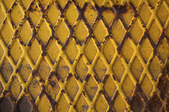 Oxidized metal plate Stock Photo