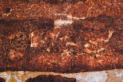Oxidized metal plate texture Stock Photo