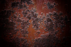 Oxidized metal surface making an abstract texture Stock Photos