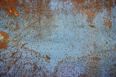 Oxidized metal surface Royalty Free Stock Image