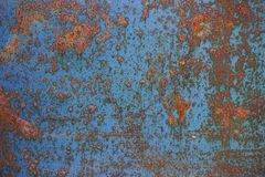 Oxidized metal surface Stock Photography