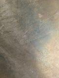 Oxidized skrapade metalltextur Arkivfoton