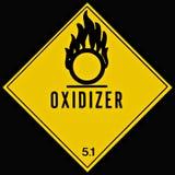 oxidizer znak Fotografia Royalty Free