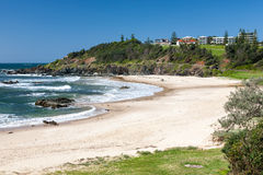 Oxley Beach Port Macquarie Royalty Free Stock Photos
