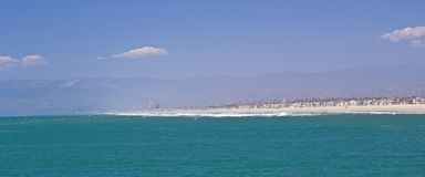 Oxnard海滩 库存图片