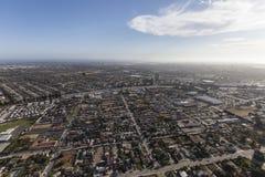 Oxnard and Ventura California Aerial Royalty Free Stock Images