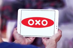 OXO λογότυπο εμπορικών σημάτων Στοκ Φωτογραφία