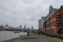 Oxo Tower in London Stock Image
