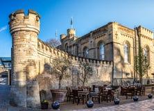 Oxord城堡 库存图片