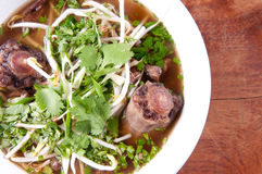 Oxtail pho soup, Stock Images