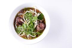 Oxtail pho soup Stock Photography