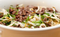 Oxtail pho soup, Royalty Free Stock Image