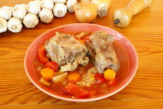 Oxtail soup Stock Images