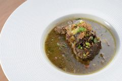 Oxtail Soup close up Royalty Free Stock Photo