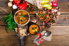 Oxtail soup Stock Photo