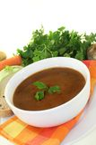 Oxtail soup Royalty Free Stock Photography