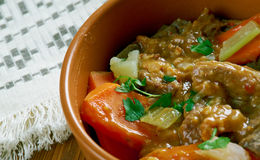 Oxtail stew Stock Image