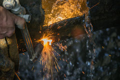 Oxy Acetylene torch 3 Stock Image