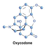 Oxycodone is semisynthetic opioid Royalty Free Stock Photography