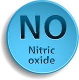 Oxyde nitrique illustration de vecteur