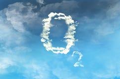 Free Oxygen Cloud On Blue Sky Stock Photography - 207607352