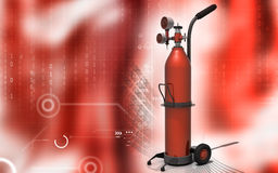 Oxygen Cylinder Stock Photography