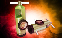 Oxygen cylinder Stock Photography