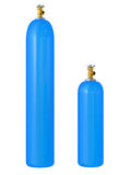 Oxygen high pressure tank Stock Image
