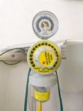 Oxygen inhalation apparatus Stock Photos